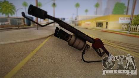 Огнемёт из Team Fortress для GTA San Andreas второй скриншот