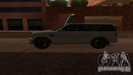 Baller GTA 5 для GTA San Andreas вид слева