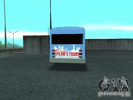 Ford Shuttle Bus для GTA San Andreas вид справа