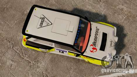 Renault 5 Turbo Maxi для GTA 4 вид справа