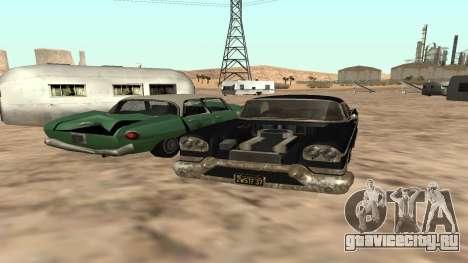 Tornado GTA 5 для GTA San Andreas вид сзади слева