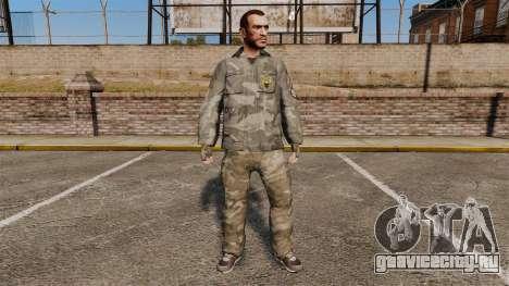 Городской камуфляжный костюм для GTA 4