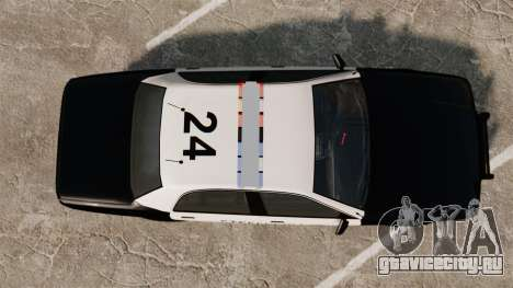 GTA V Vapid Steelport Police Cruiser [ELS] для GTA 4 вид справа