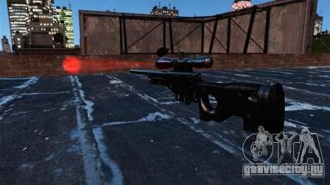 Снайперская винтовка AI Arctic Warfare Magnum для GTA 4 третий скриншот