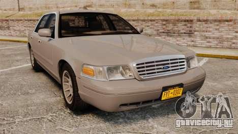 Ford Crown Victoria 1999 для GTA 4