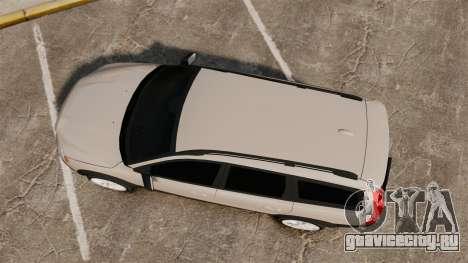 Volvo XC70 Stock для GTA 4 вид справа