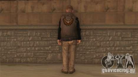 Байкер для GTA San Andreas второй скриншот