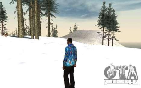 Куртка Сочи 2014 для GTA San Andreas второй скриншот
