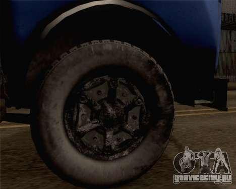 МАЗ 504a для GTA San Andreas вид сзади слева