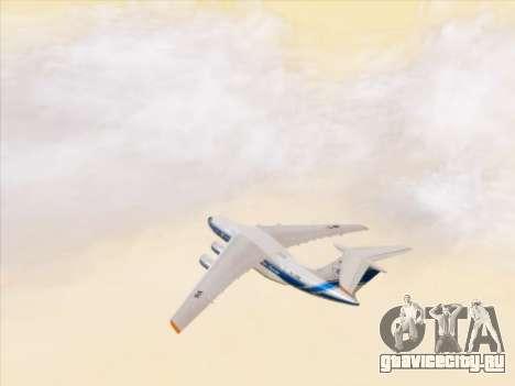 Ил-76ТД-90ВД Волга-Днепр для GTA San Andreas вид сверху