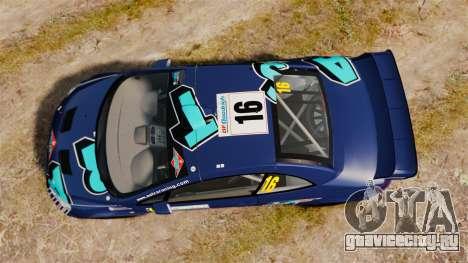 Peugeot 307 WRC для GTA 4 вид справа