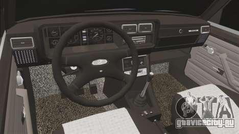 ВАЗ-2107 (LADA 2107) для GTA 4 вид изнутри