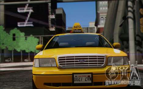 Ford Crown Victoria LA Taxi для GTA San Andreas
