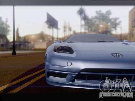 Acura NSX для GTA San Andreas вид слева