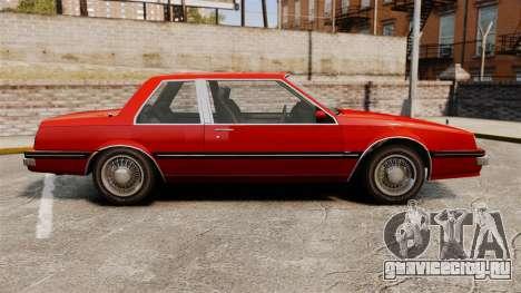 Willard Coupe для GTA 4 вид слева