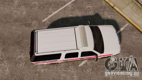 Chevrolet Suburban 2003 AMR [ELS] для GTA 4 вид справа