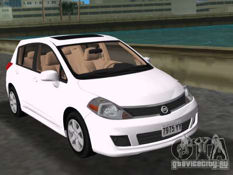 Nissan Tiida для GTA Vice City
