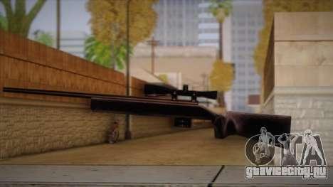 Снайперская Винтовка из Max Payn для GTA San Andreas четвёртый скриншот