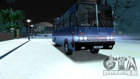 Икарус 255 для GTA Vice City вид сзади слева