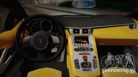 Lamborghini Aventador LP 700-4 RENM Tuning для GTA San Andreas вид справа