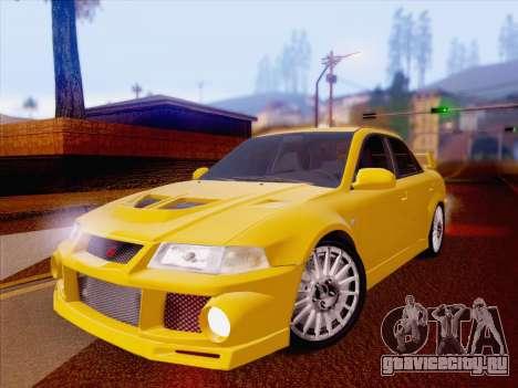 Mitsubishi Lancer Evolution VI LE для GTA San Andreas