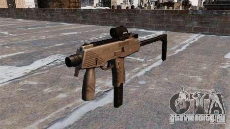 Тактический пистолет-пулемёт MP9 для GTA 4