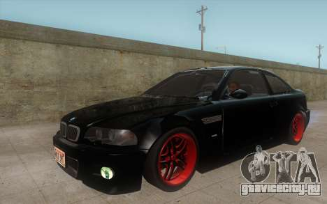 BMW M3 e46 Duocolor Edit для GTA San Andreas вид слева