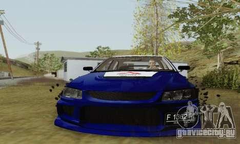 Mitsubishi Lancer EVO VIII MR GSR WMMT для GTA San Andreas