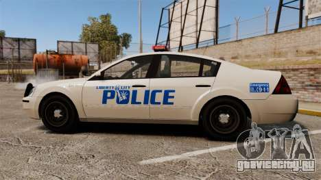 Pinnacle Police LCPD [ELS] для GTA 4 вид слева