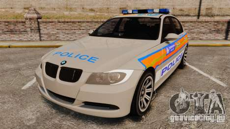BMW 330 Metropolitan Police [ELS] для GTA 4