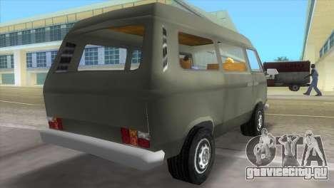 Volkswagen Transporter T3 для GTA Vice City вид слева