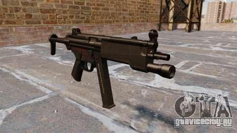 Пистолет-пулемёт МР5А3 для GTA 4