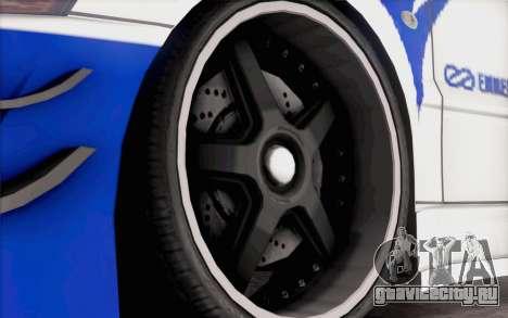 Mitsubishi Lancer Evolution IIIX для GTA San Andreas вид справа