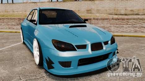 Subaru Impreza HD Arif Turkyilmaz для GTA 4