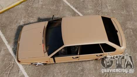 ВАЗ-2114 для GTA 4 вид справа