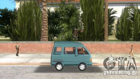 Kia Towner для GTA Vice City вид слева