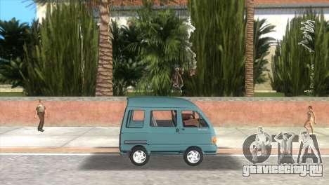 Kia Towner для GTA Vice City вид слева