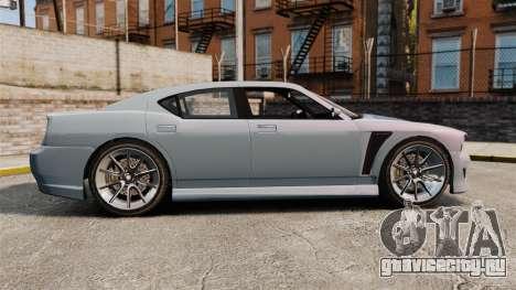 GTA V Bravado Buffalo Supercharged для GTA 4 вид слева