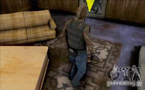 Матиас Нильсон из Mercenaries 2 для GTA San Andreas второй скриншот