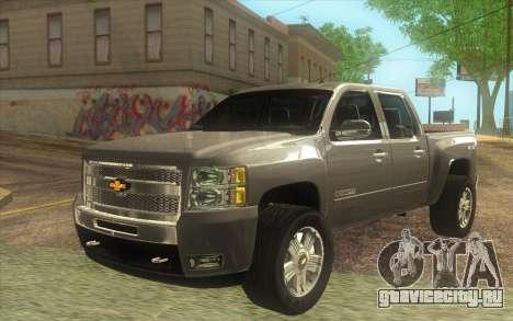Chevrolet Cheyenne LT 2012 для GTA San Andreas