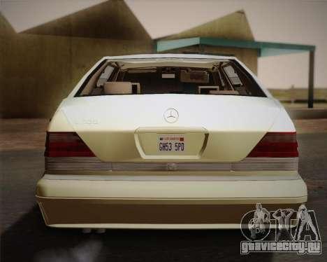 Mercedes-Benz S600 V12 Custom для GTA San Andreas вид сбоку