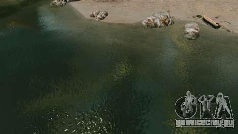 Новый цвет морской воды для GTA 4
