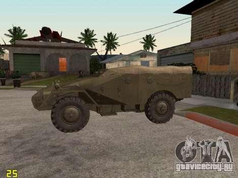 БТР-40 для GTA San Andreas вид слева