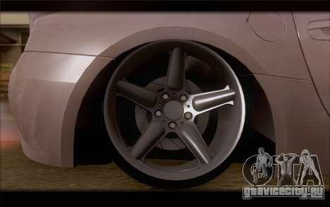BMW Z4 Stance для GTA San Andreas вид сзади слева