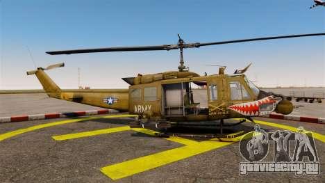 Bell UH-1 Iroquois v2.0 Gunship [EPM] для GTA 4 вид слева