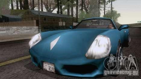 Stinger из GTA 3 для GTA San Andreas