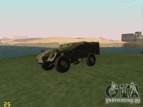 БТР-40 для GTA San Andreas вид сзади