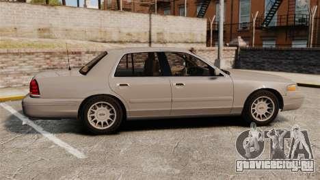Ford Crown Victoria 1999 для GTA 4 вид слева