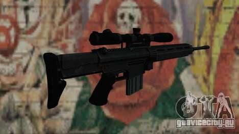 Снайперcкая винтовка Блек для GTA San Andreas второй скриншот