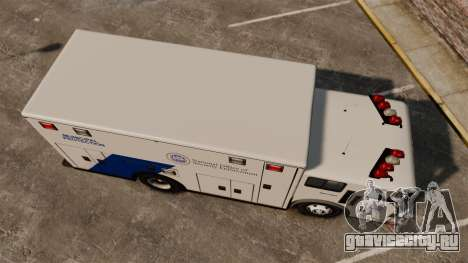 Hazmat Truck NOOSE [ELS] для GTA 4 вид справа